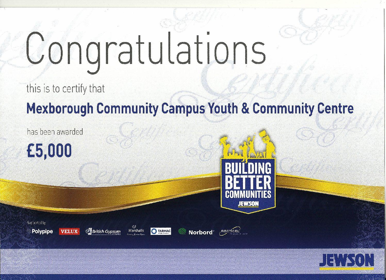Jewson – Building Better Communities