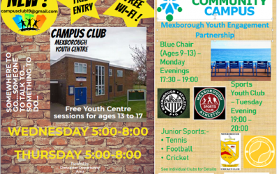 New Youth Club Offering